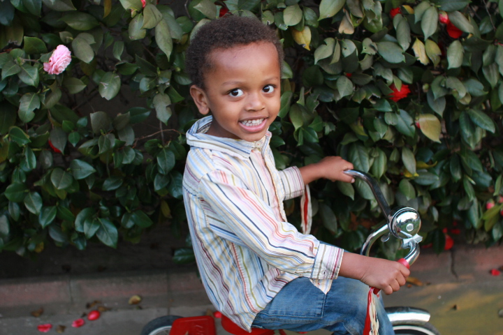 IMG_7591 african american boy on tricycle